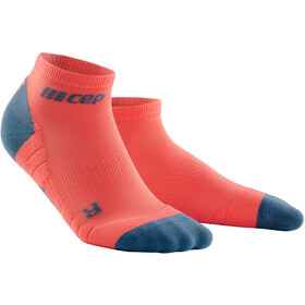 cep Low Cut Socks 3.0 Homme, coral/grey